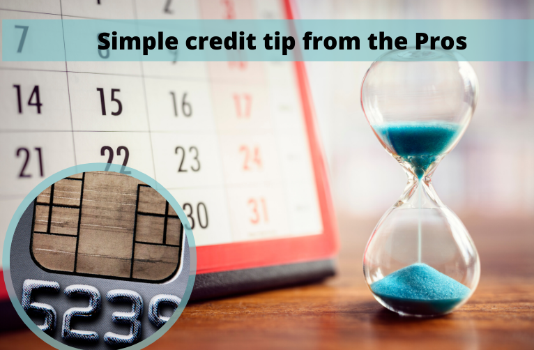 Simple credit tip from the Pros